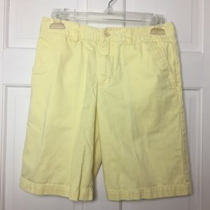 Polo Ralph Lauren boys shorts size 14 Yellow.